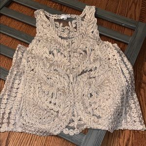 Charming Charlie blouse size small